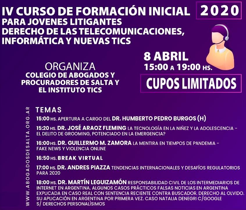 Curso De Formacion Para Jovenes Litigantes Pablo Robbio Saravia Abogado